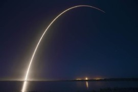 نخستین ماهواره تمام الکتریکی جهان به فضا رفت