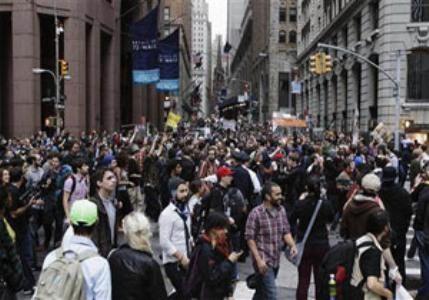 خیابانهای شارلوت آمریکا بار دیگر مملو از تظاهرکنندگان شد